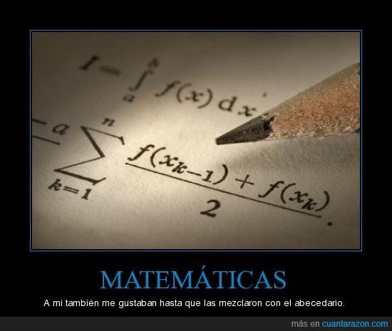 abecedario,gustar,matematicas