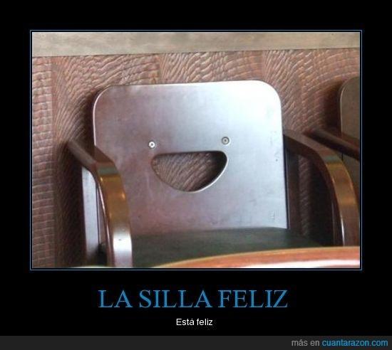 feliz,silla