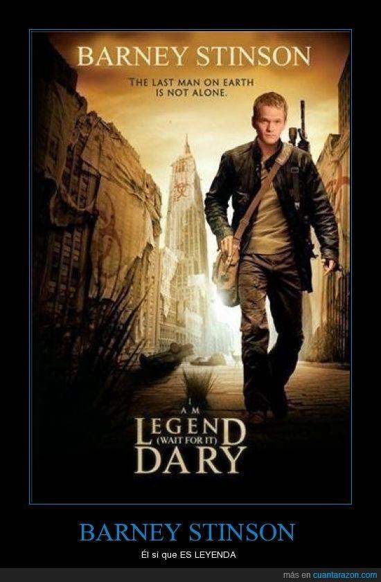 barney stinson,legendary,soy leyenda