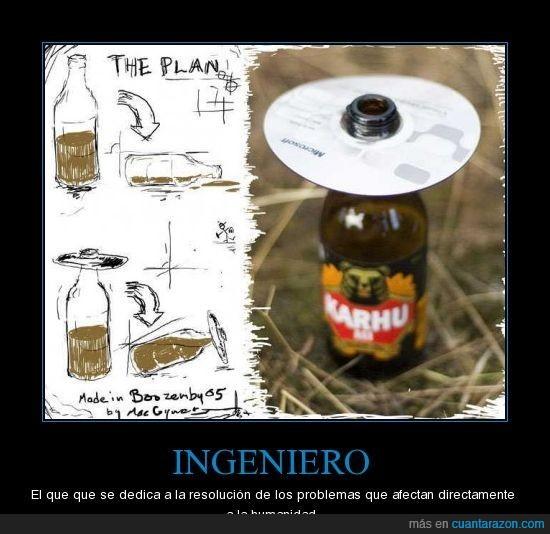 cerveza,humanidad,ingeniero,problemas