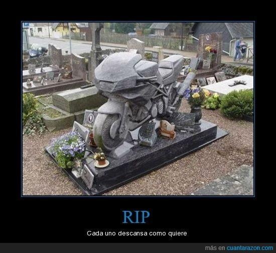 cementerio,motero,moto,tumba