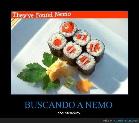 comida,nemo,sushi