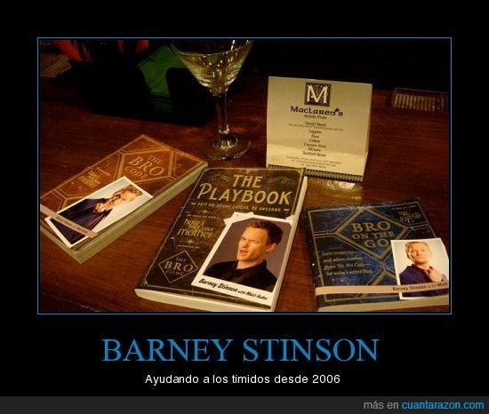 Barney,friki,playbook,stinson