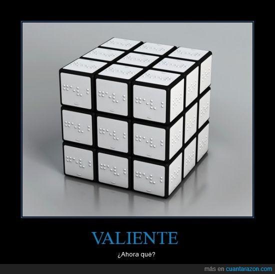 cubo,rubik,valiente