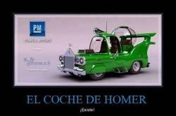 Enlace a EL COCHE DE HOMER
