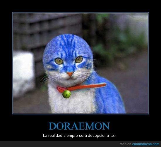 doraemon,gato,orejas,realidad,sad,triste