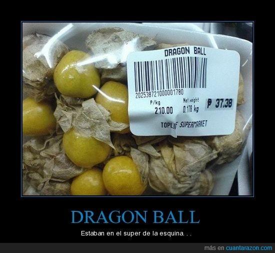 bola de dragón,dragon ball