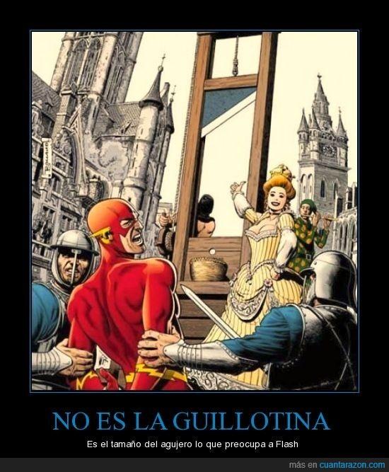 circuncisión,comic,Flash,guillotina