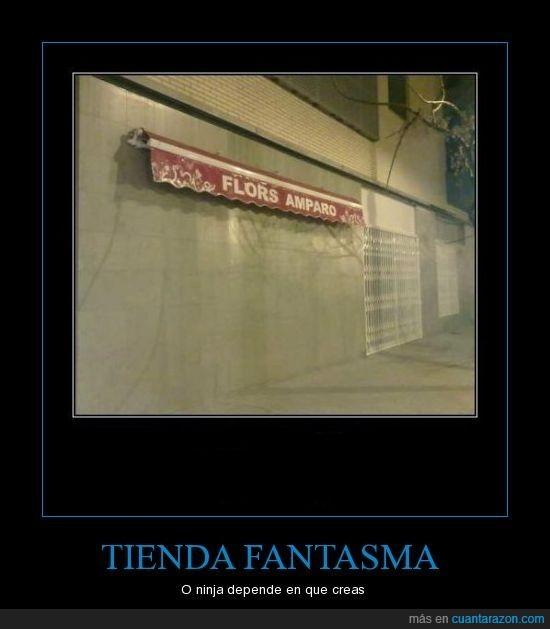 fantasma,ninja,tienda