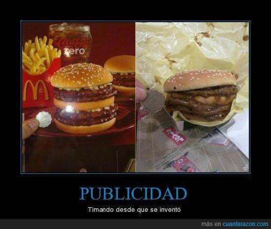 burger,publicidad,timo