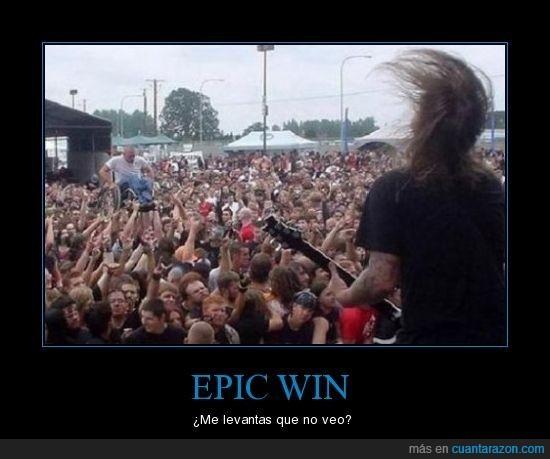 concierto,epic win,minusválido
