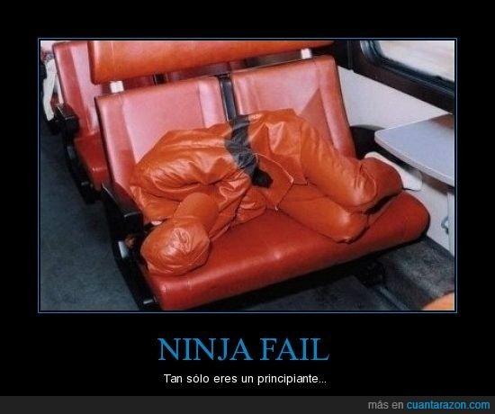 fail,ninja,principiante