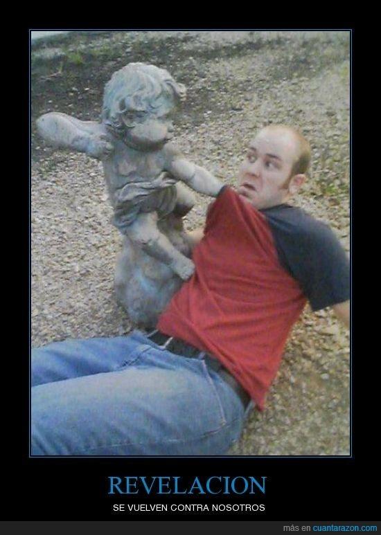 estatua,revelación