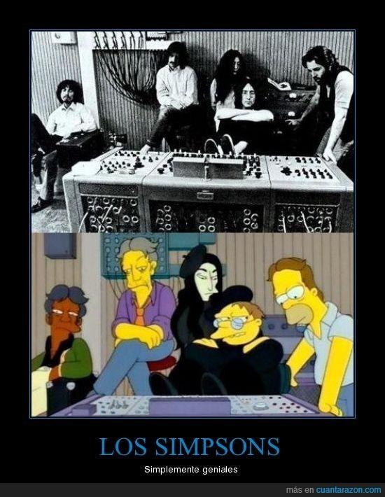 John Lennon,simpsons,Yoko Ono