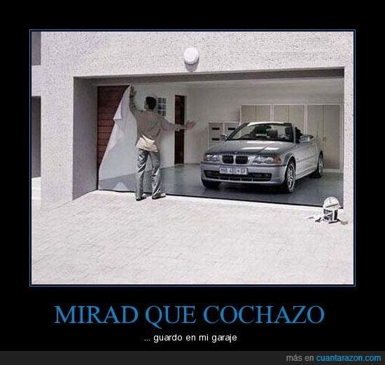 coche,fake,garaje