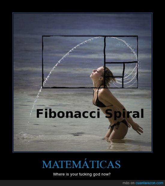 agua,Dios,Fibonacci,Matemáticas,Mujer