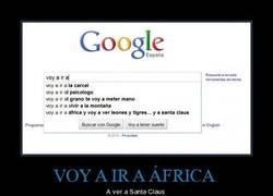 Enlace a VOY A IR A ÁFRICA