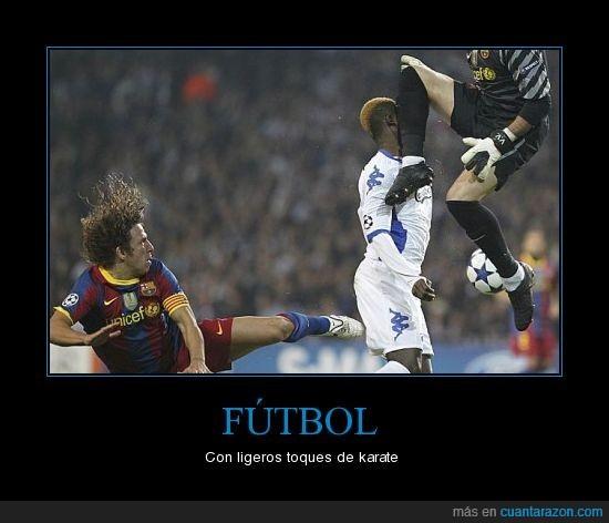 barcelona,futbol,karate