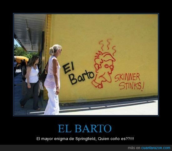 Bart,Barto,Simpsons
