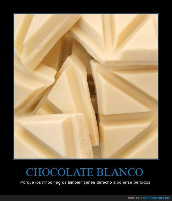 blanco,chocolate,negro,niños