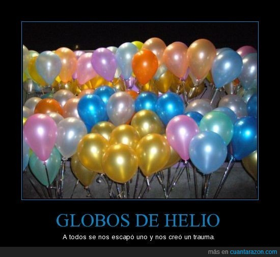 Globos,Helio,Trauma