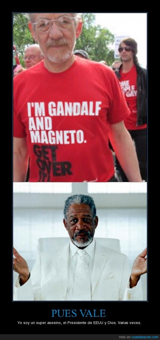 dios,Morgan Freeman,Snsoken