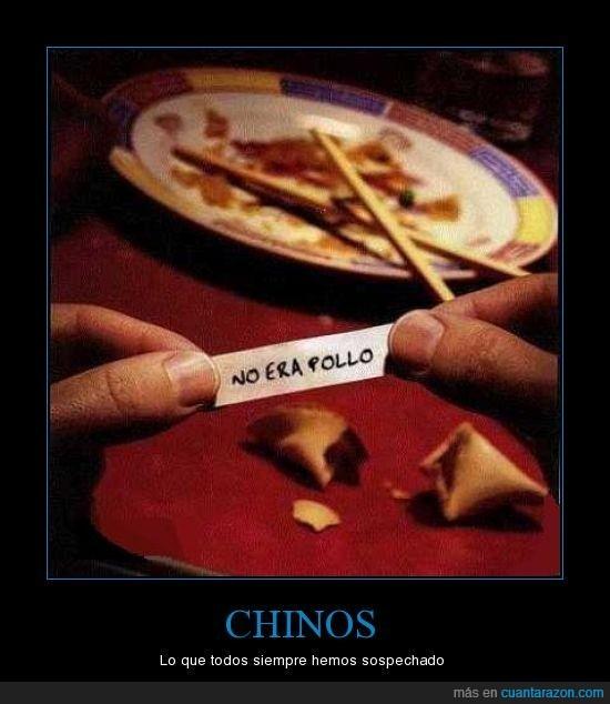 chino,engaño,pollo,timo