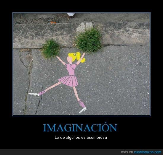 animadora,césped,dibujo,hierba felpuda,imaginación,mira mamá lo que sé hacer