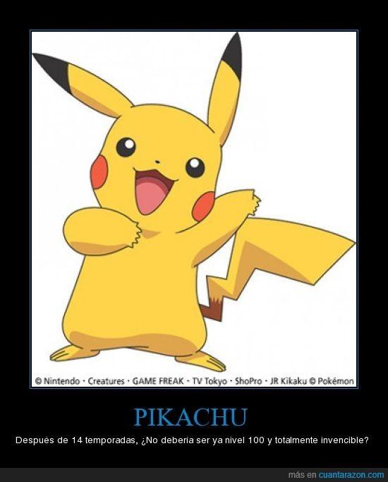 nivel,Pikachu