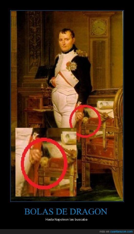 bolas de dragon,friki,napoleon