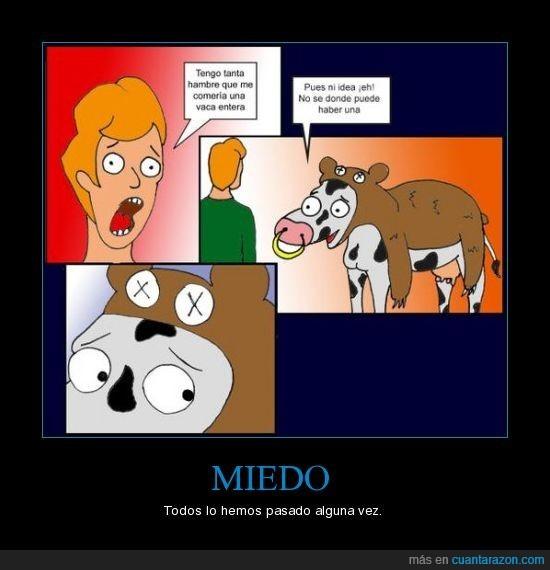 dibujos,humor,miedo,vacas