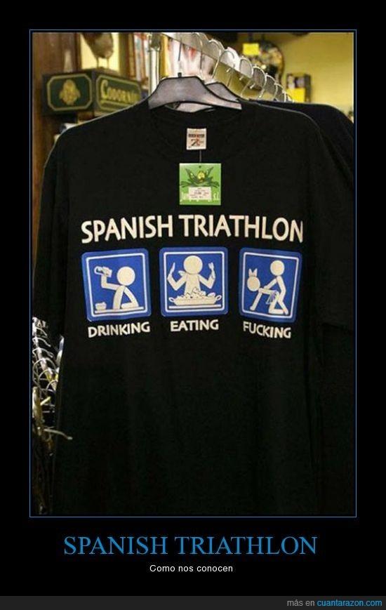 beber,comer,españoles