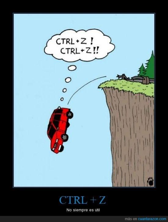 CTRL + Z,informaticos