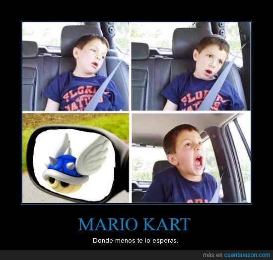 Friki,Mario Kart
