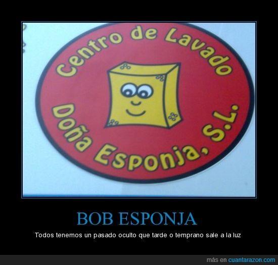 bob esponja,pasado