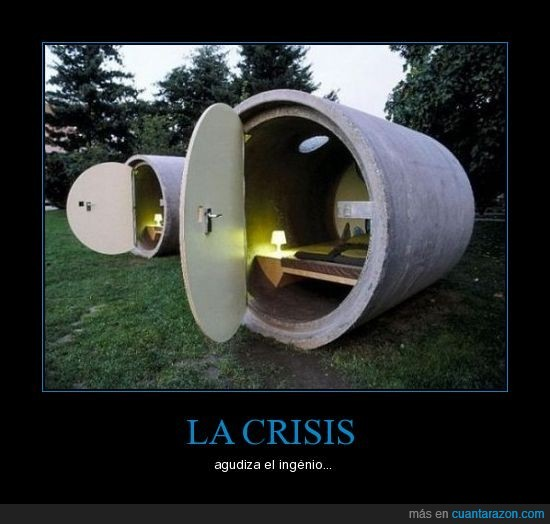 casa,crisis,tubo
