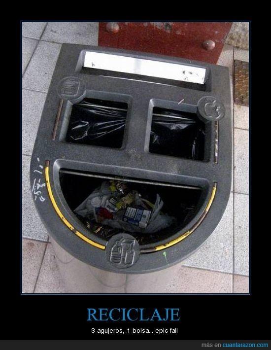 basura,fail,mal,reciclaje