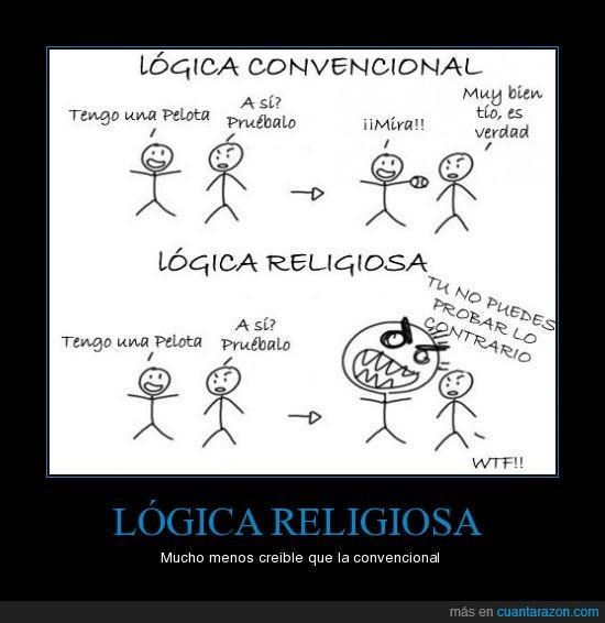 lógica convencional,lógica religiosa,religión
