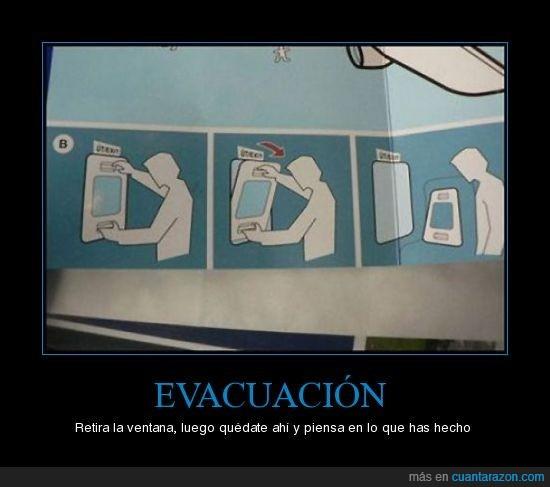 avion,emergencia,evacuacion