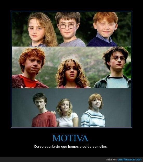 Años,Crecer,Harry,Potter