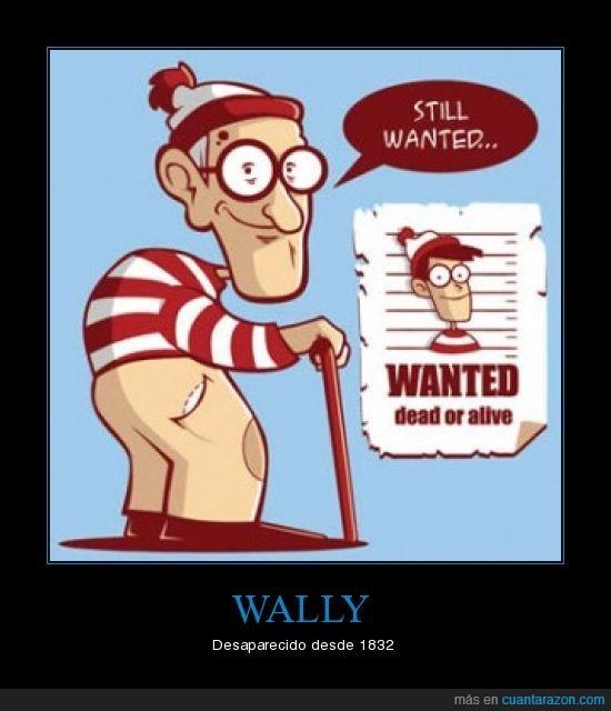 muerto,se busca,vivo,wally