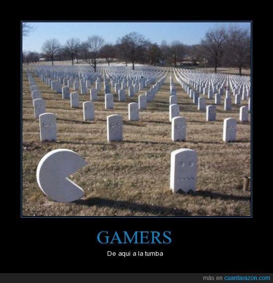 cementerio,gamers,pacman,tumba