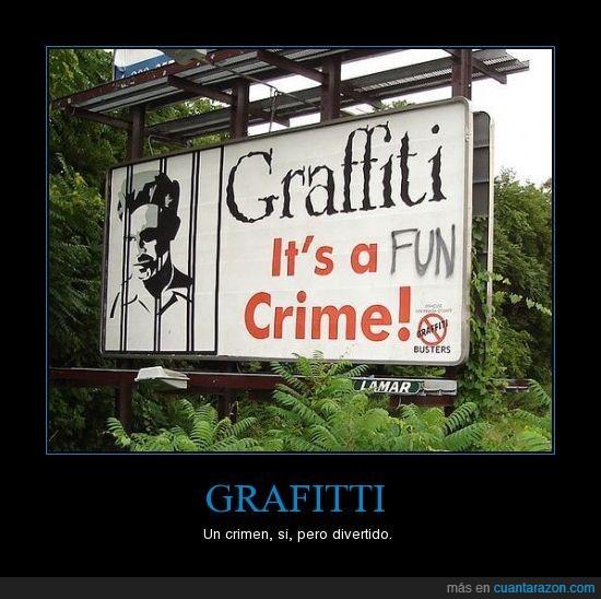 crimen,divertido,graffiti,prohibido