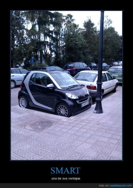 aparcar,coches,estilo,pequeño