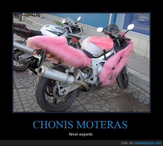chonis,moteras,moto,tuneada