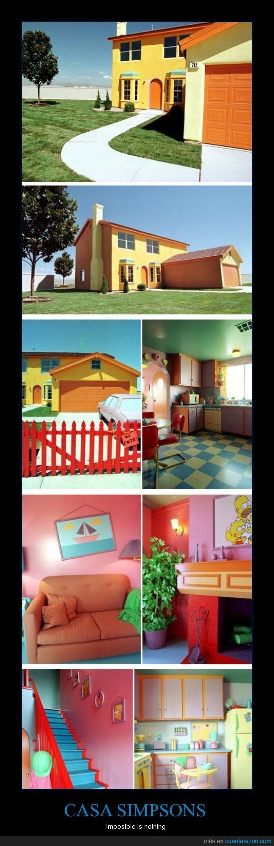 casa,real,simpsons