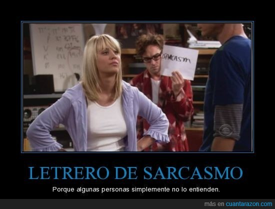 sarcasmo,señal,the big bang theory