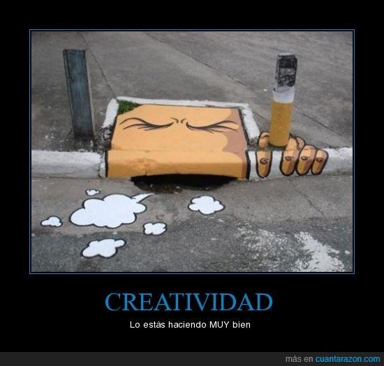 alcantarilla,arte,creatividad