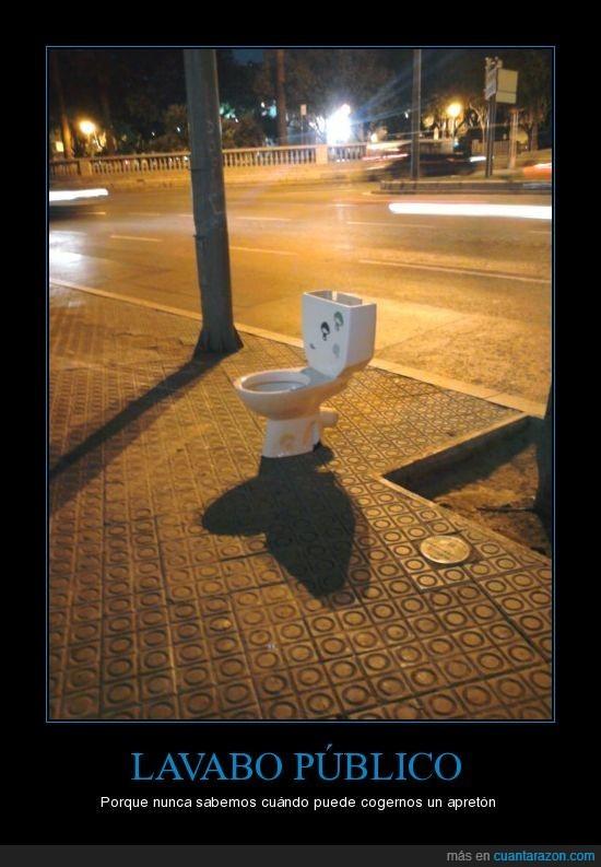 barcelona,calle,lavabo,público