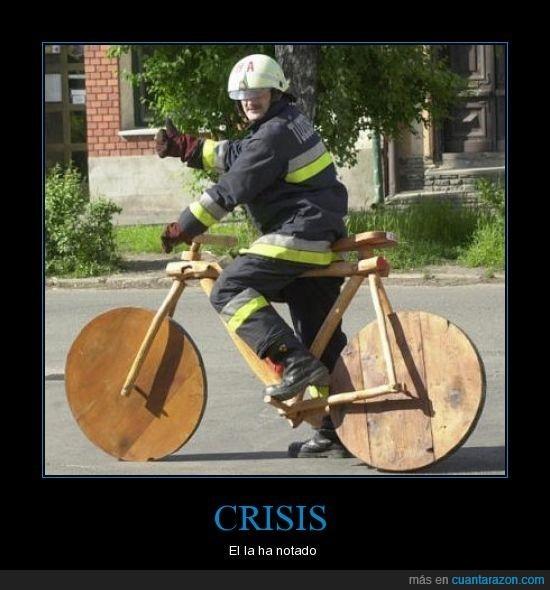bici,bomberos,Crisis,madera